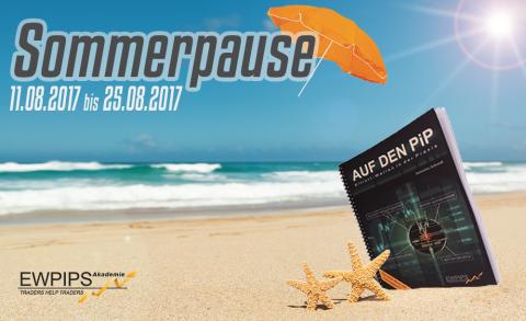EWPIPS macht vom 11.08.2017 bis 25.08.2017 Urlaub!
